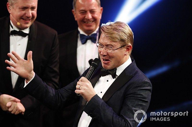 Autosport Awards: Mika Hakkinen receives Gregor Grant Award