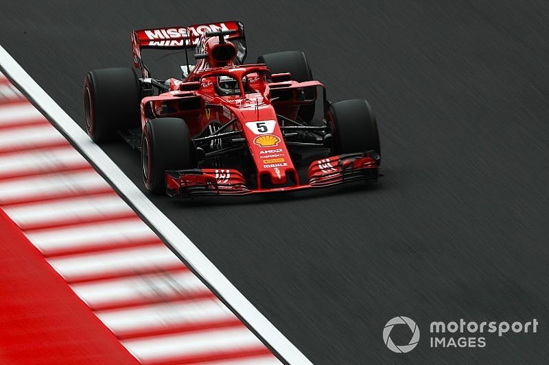 フェラーリ、タイヤ選択で大失敗も……ベッテル「誰かを責めたりしない」