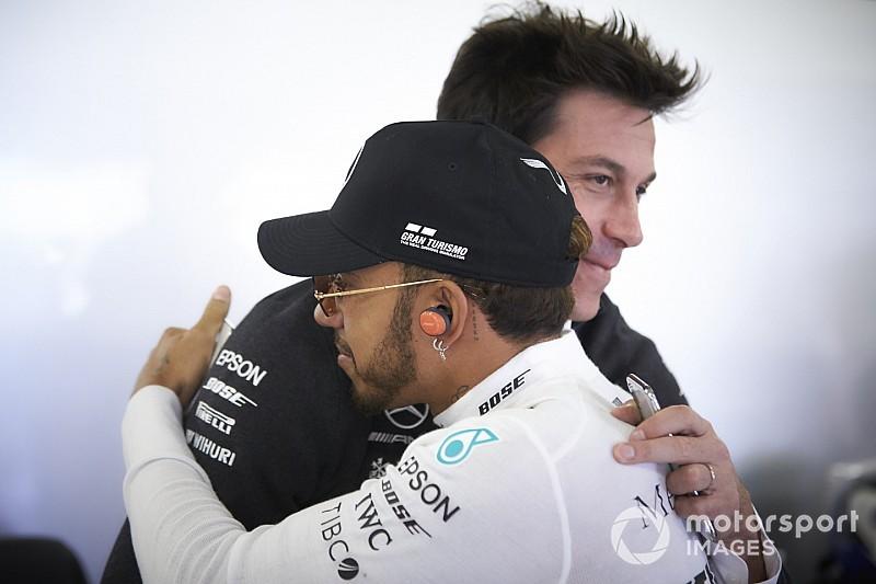 """Wolff: """"L'esito del Mondiale 2016 ha rafforzato la fiducia tra Hamilton e Mercedes"""""""