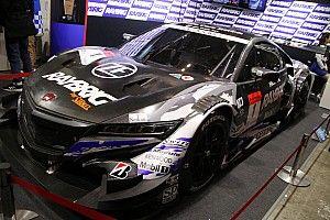 1号車RAYBRIG NSX-GTのテストカラーが登場、バトン「1番というのが何より嬉しい」