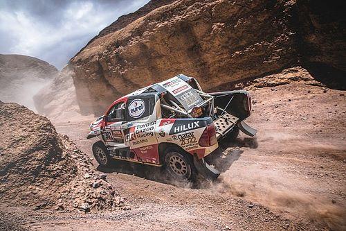 Toyota ha encargado un plan por si Alonso decide correr el Dakar