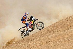 Dakar, Moto, Tappa 7: Sunderland si riscatta, ma sorride Brabec che torna in vetta