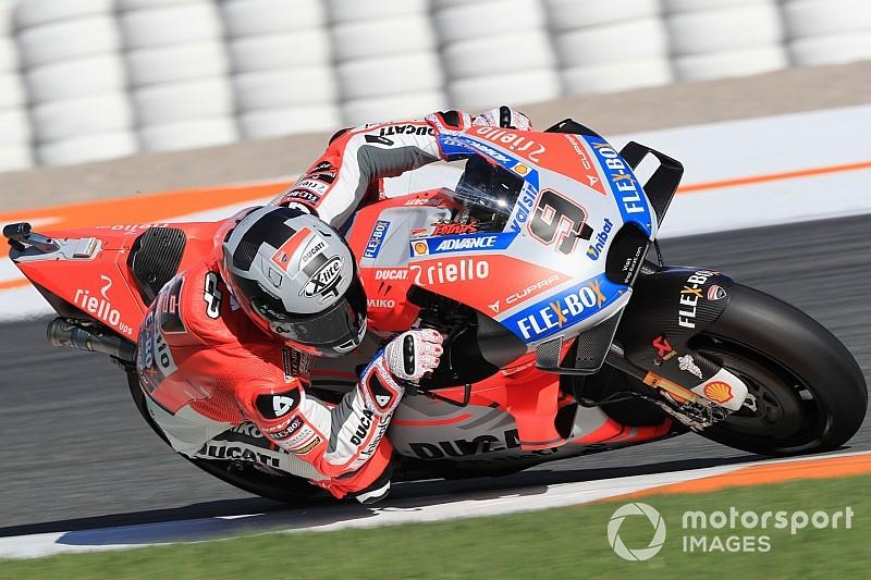 Test MotoGP Jerez, Giorno 1: Petrucci guida la doppietta Ducati dopo le prime tre ore