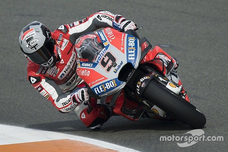 """Petrucci: Emotional Ducati debut like """"first day at school"""""""