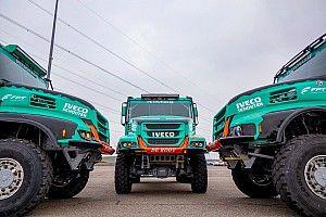 Dakar 2019: gli Iveco del team De Rooy con cambio automatico e più freno motore FPT