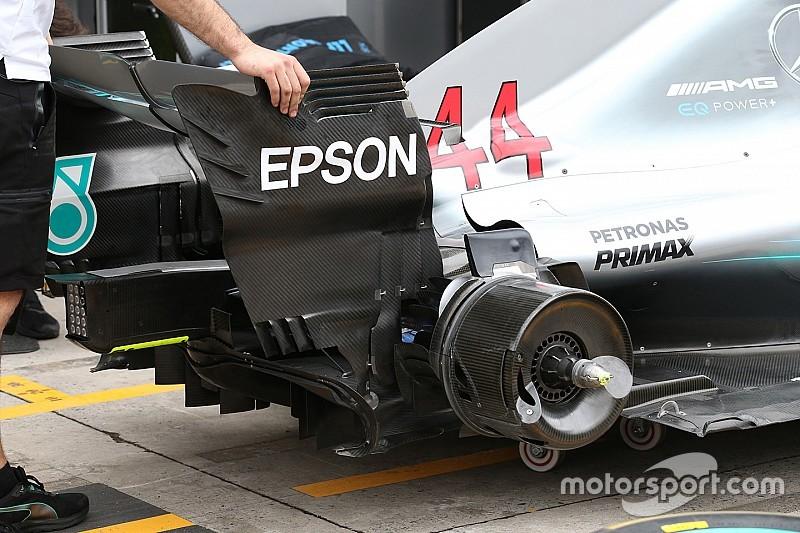 Formel-1-Technik: Detailfotos beim GP Brasilien in Sao Paulo