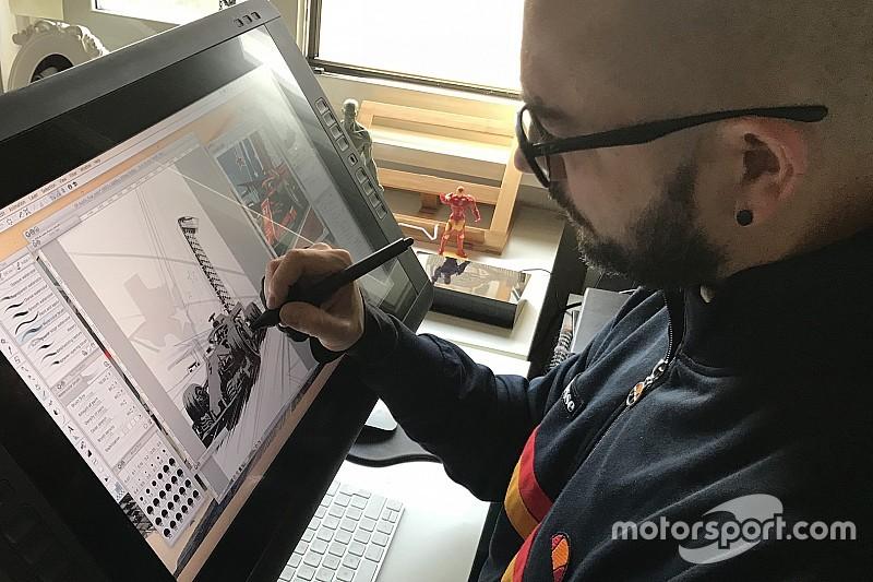 La Ferrari come Iron Man: Valerio Schiti della Marvel firma la Cover Art di Austin