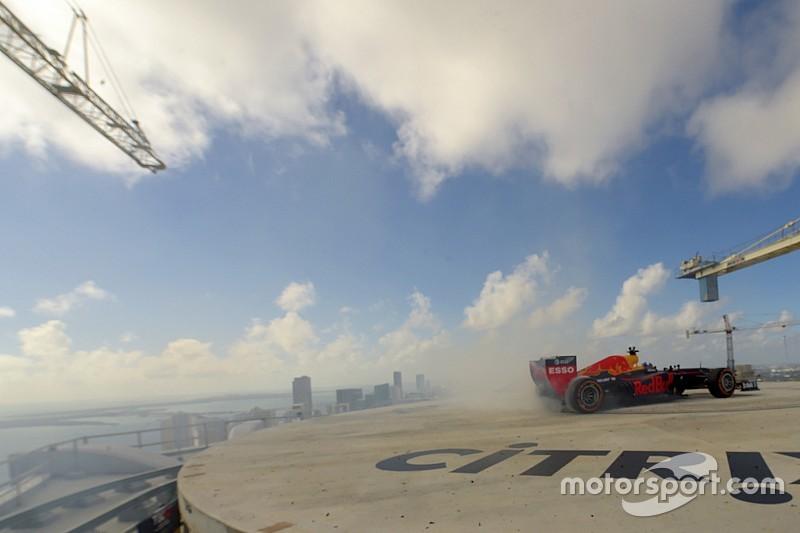 Spektakulärer Stunt in Miami: Donuts auf Wolkenkratzer-Dach!