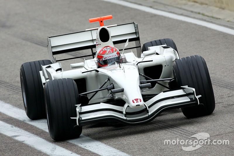 A Honda egyik legnagyobb bukása a Forma-1-ben: RA107
