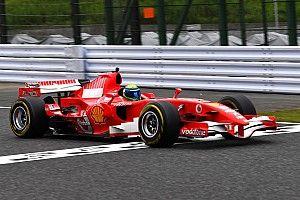 Massa retorna à Ferrari de 2006 em evento especial em Suzuka