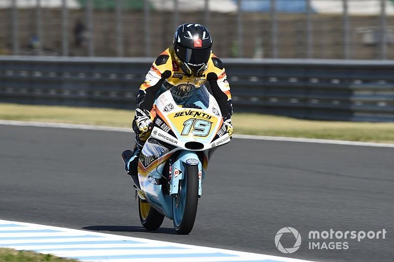 Moto3, Motegi: prima pole stagionale per Rodrigo, Bezzecchi in prima fila