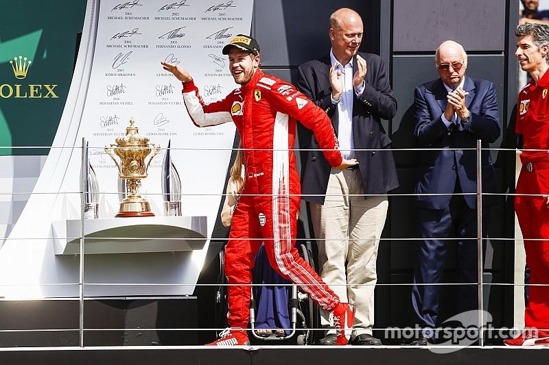 Winnaars en verliezers van de Grand Prix van Groot-Brittannië