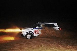 Rallying under the stars - night stages in Desert Storm