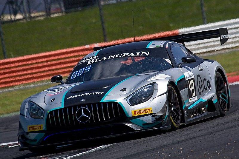 24 Ore di Spa: la Ram Racing guida la doppietta Mercedes nei Bronze Test