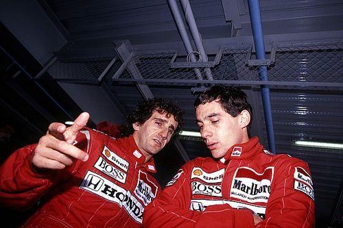 """Prost rememora la vuelta """"absolutamente increíble"""" de Senna en 1988"""