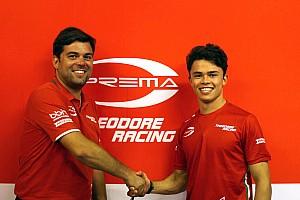 FIA F2 Breaking news De Vries jadi rekan satu tim Gelael di Prema untuk F2 2018