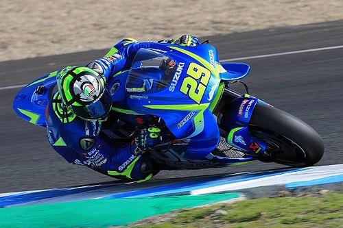 Suzuki termine l'année avec un test intense et positif