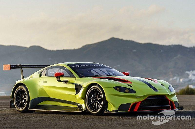 Aston Martin launches 2018 Vantage GTE contender