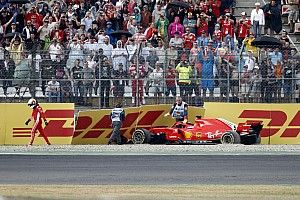 """Vettel: """"Estoy triste, pero no tendré problemas para dormir"""""""