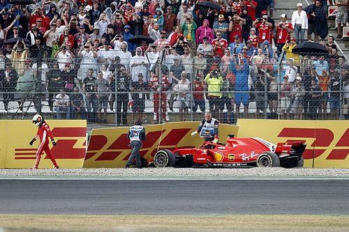 Formel 1 Hockenheim 2018: Vettel crasht in Führung liegend!