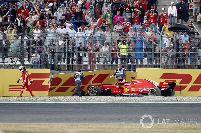 Vettel: I won't lose sleep over German GP crash