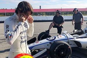 Fittipaldi aims for Mid-Ohio top 10 after comeback test