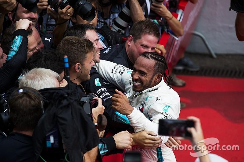 Hamilton: Mercedes beni hayal edemeyeceğim yerlere getirdi, ben de onları getirdim