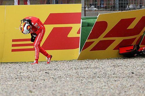 Vettel analiza su etapa en Ferrari antes de su salida