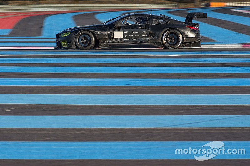 La BMW M8 GTE réussit sa première simulation de 24 heures