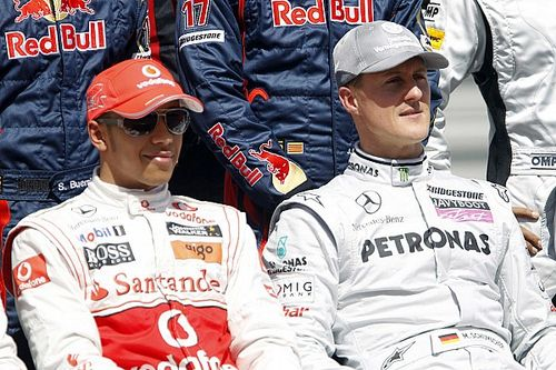 Rosberg kepada Hamilton: Kejar rekor Schumacher