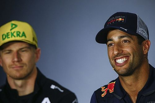 Ricciardo, Hulkenberg'i hafife almayacak