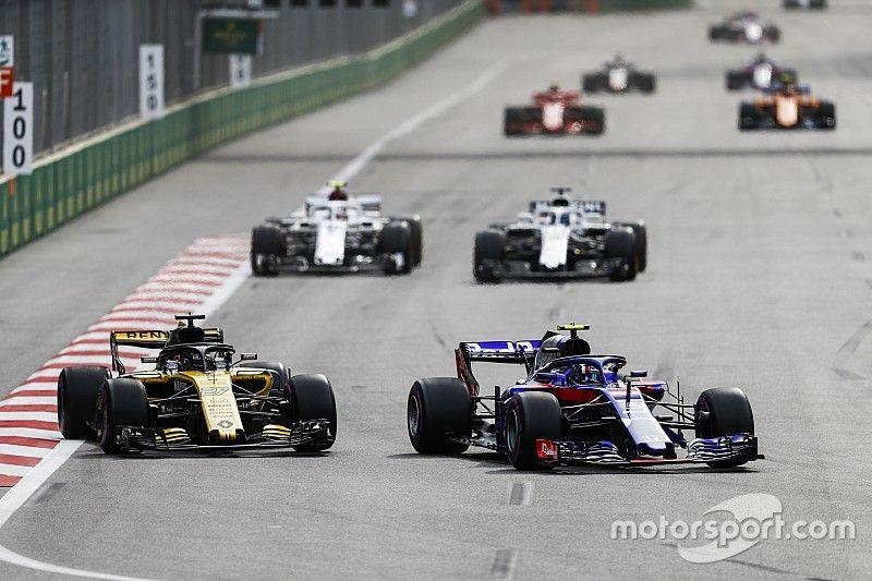 Los fabricantes de la F1 tendrán que compartir partes con nuevos participantes