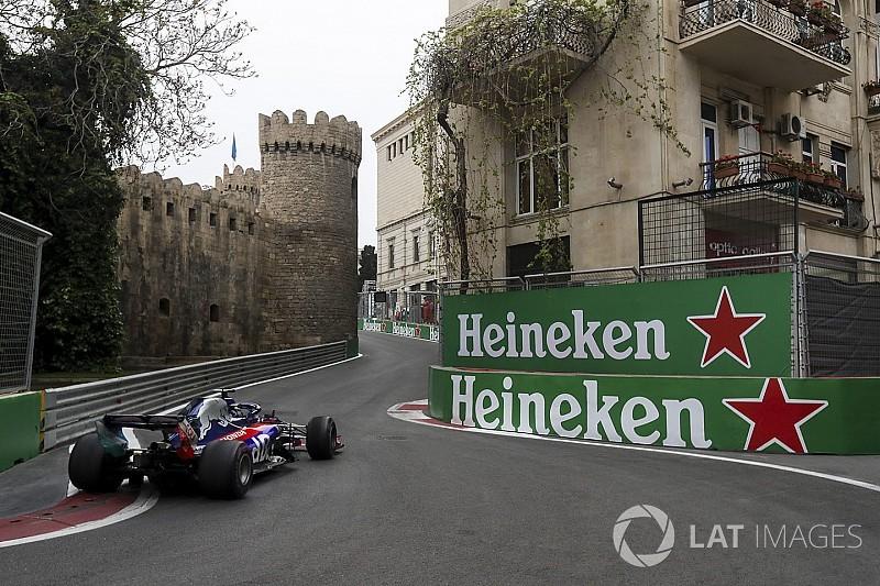 Зажатые между стен. Городская атмосфера гонки Формулы 1 в Баку