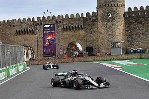 Fotogallery: Hamilton riporta alla vittoria la Mercedes a Baku