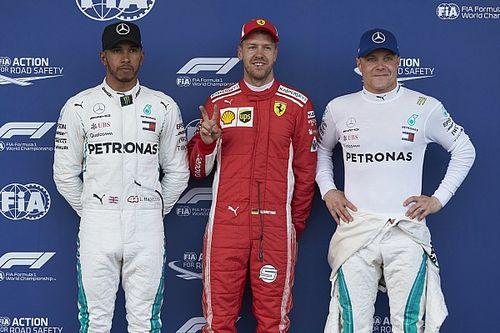 La parrilla de salida del GP de Azerbaiyán