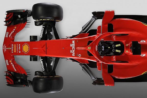 F1 特别专题 对比:法拉利2018与2017年F1赛车对比