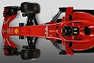 Slide view: 2018 Ferrari F1 car v 2017 version