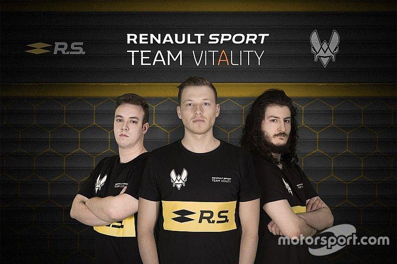 Renault, primera escudería de F1 que lanza un equipo de eSports