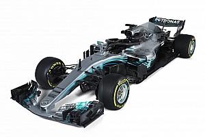Komparasi mobil F1: Mercedes W08 vs Mercedes W09