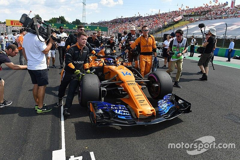 McLaren's Alonso statement in full