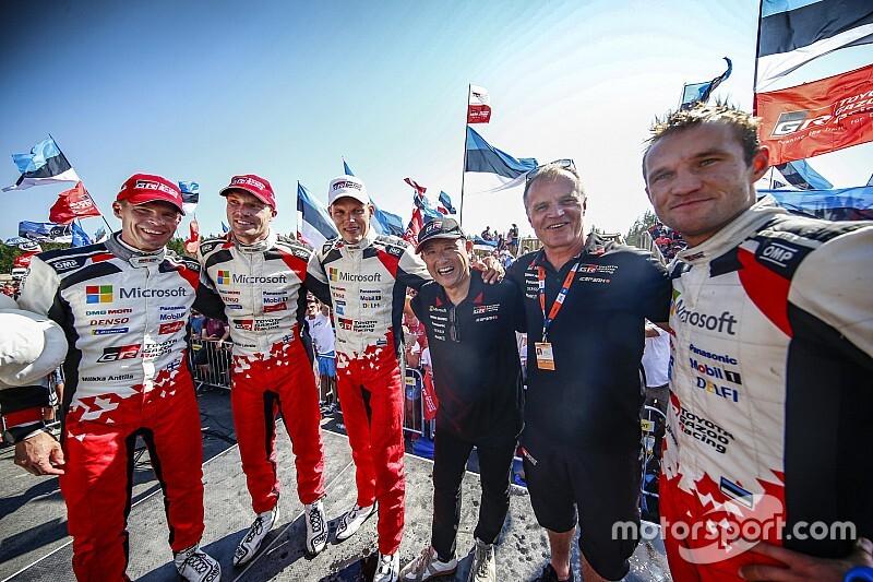 トヨタ豊田社長、今季限りでWRCチームを離れる3人のドライバーに「ありがとう」