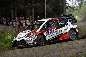 WRCフィンランド:トヨタ勢が絶好調。オット・タナク、リードを39秒に拡大