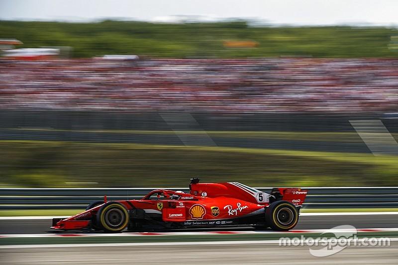 """Vettel: """"Er zit nog veel meer potentie in onze wagen"""""""