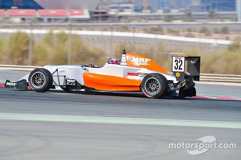 Dubai MRF: Martono scores maiden win in Race 4