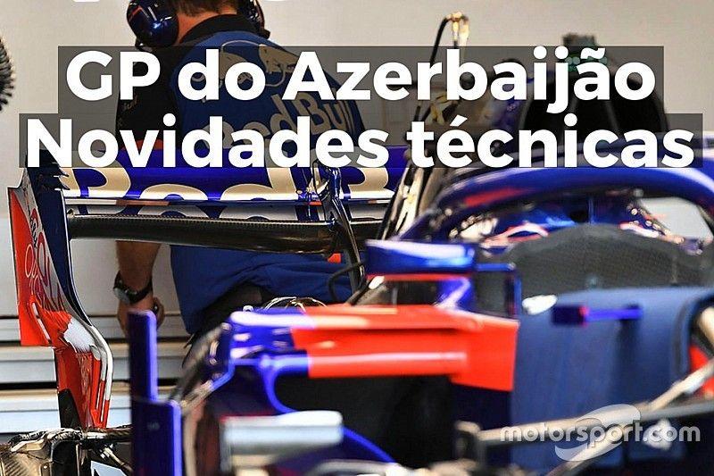 VÍDEO: as novidades técnicas do GP do Azerbaijão