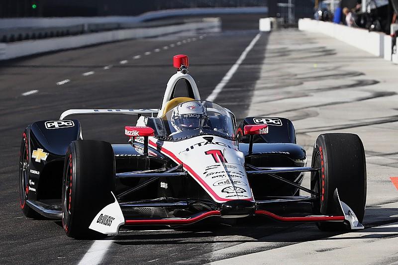 Képeken, és videón az újabb szélvédős teszt az IndyCarban