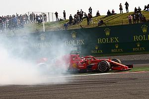 Forma-1 Motorsport.com hírek Egy igazi F1-es extra: 360 fokos videón Vettel kiütése Sanghajban