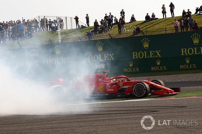 Ferrari battuta due volte, ma per Vettel è andata bene così