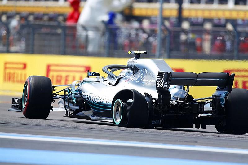 Mercedes: У Поль Рікарі Боттас втратив 5% притискної сили