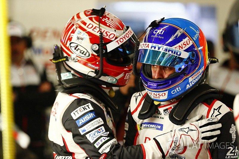 "Alonso over pole Le Mans: ""Geweldige ronde van Nakajima"""